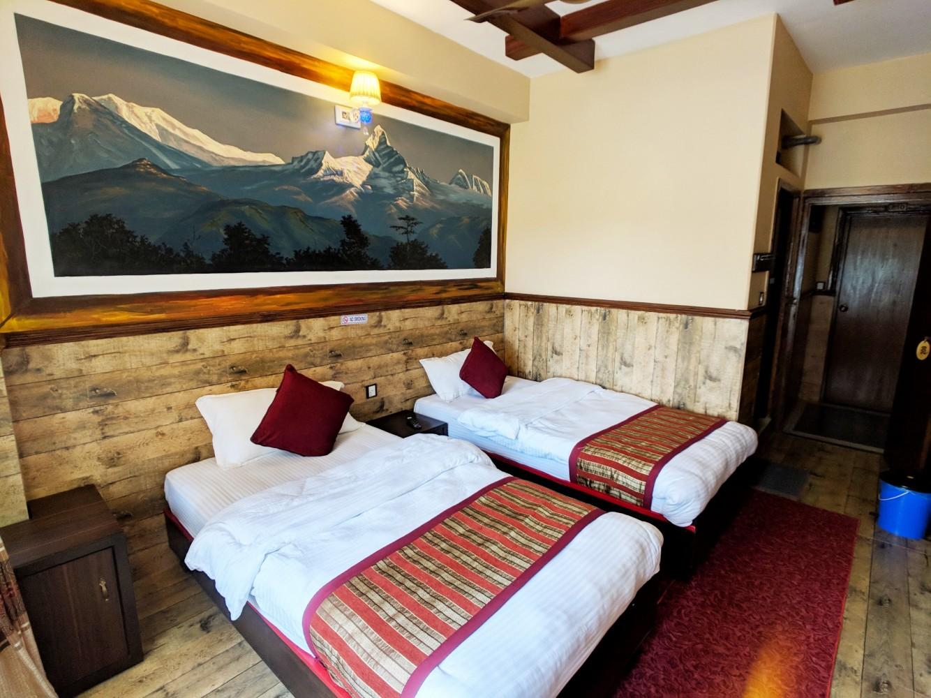 Hotel Forest Lake Backpackers Hostel Pokhara Nepal Best Price Voucher West Jogja Photo