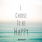 """""""Choose To Be Happy!"""" @ Seymour # 16 and # 9"""