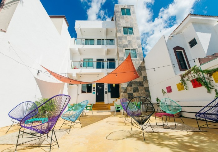 The Mermaid Hostel Beach Cancun Mexico Best Price Guarantee