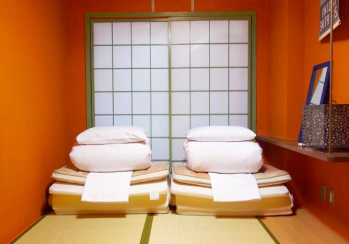 【訳あり】1F共用リビング横のお部屋で格安!最大2名和室